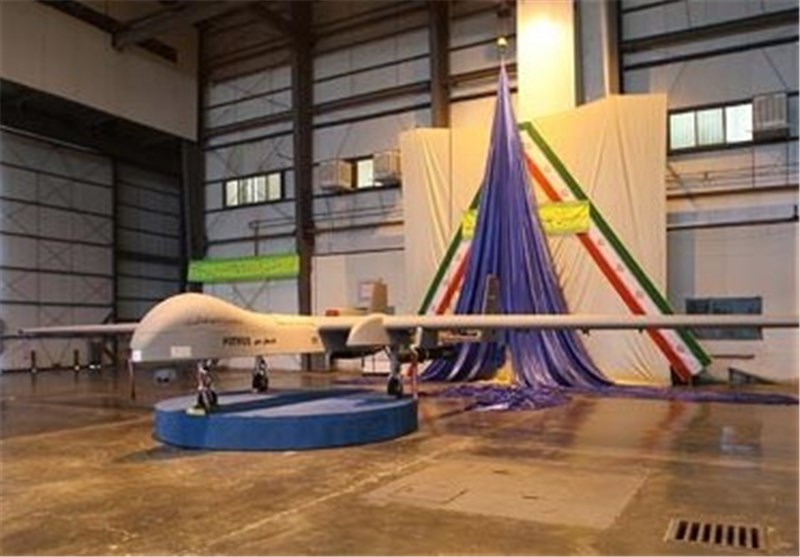 Defense Minister Elaborates on Iran's Strategic Drone (+Photos)