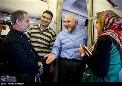 Iranian FM in Italy