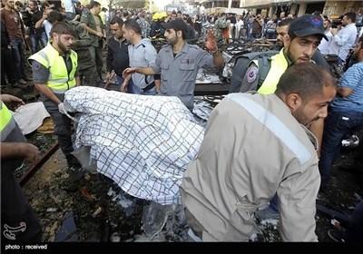 تفجیرین قرب سفارت ایران ببیروت
