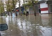 وقوع سیلاب در شهرستان های غرب مازندران / تعطیلی مدارس نوشهر و چالوس