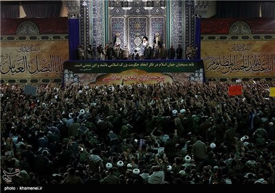 Basij Forces, Commanders Meet Supreme Leader in Tehran