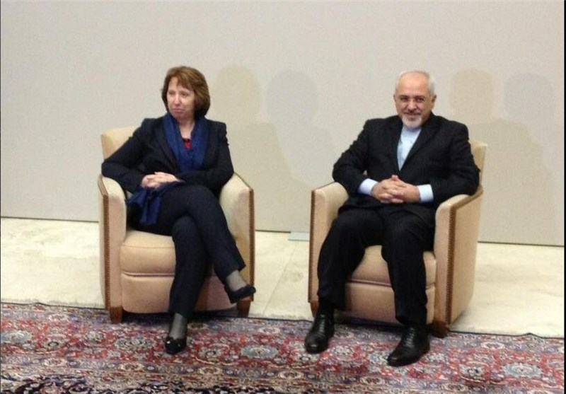 Iran's FM, EU's Ashton Discuss Tehran-Sextet Talks by Phone