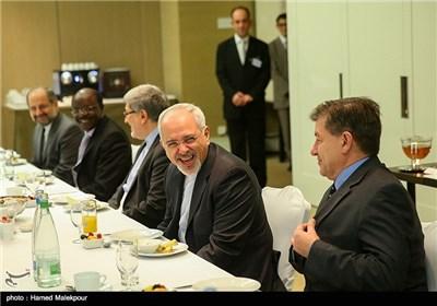 دیدار محمدجواد ظریف وزیر امور خارجه با روسای سازمان های بین المللی مستقر در ژنو