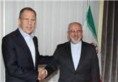 گفت وگوی ظریف و لاوروف درباره سوریه و ایران