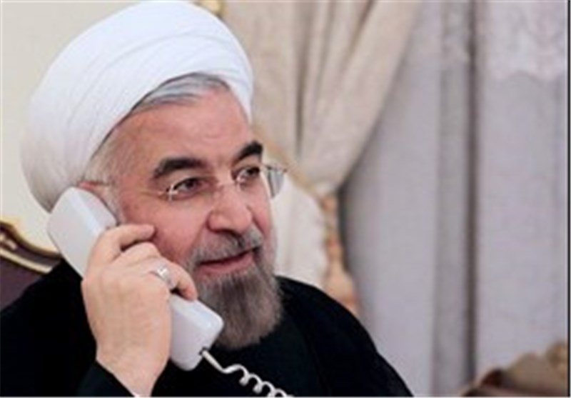 President Rouhani Reiterates Iran's Support for Syrian Nation