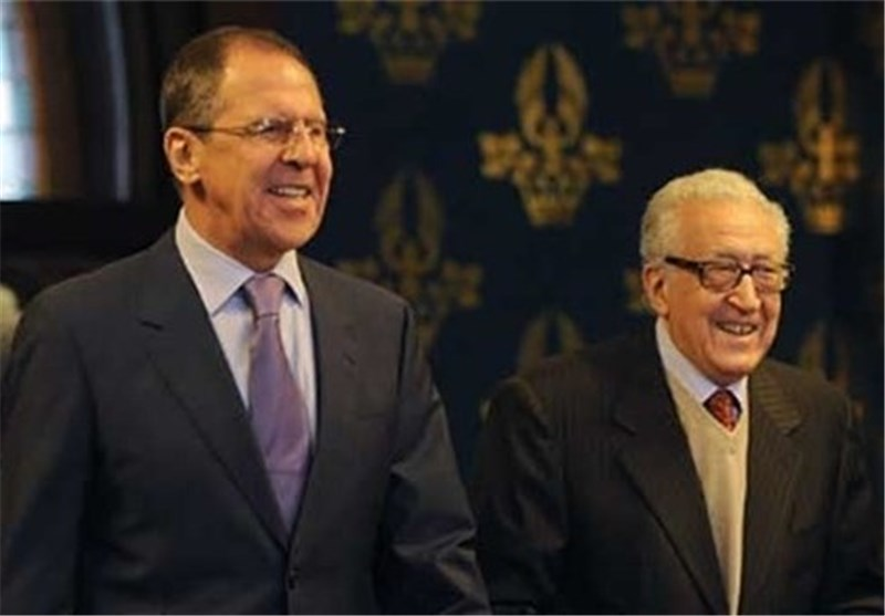 Brahimi, Russia's Lavrov Meet in Geneva