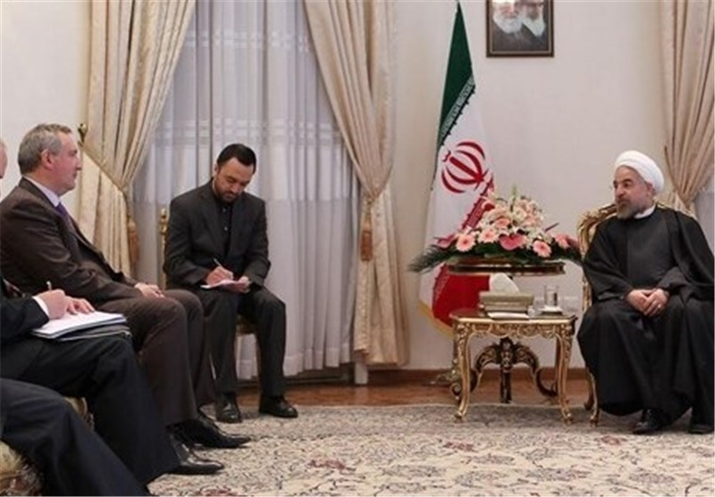 Rouhani Asks for Comprehensive Expansion of Ties with Russia
