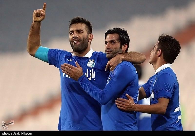 پیروزی استقلال مقابل داماش در نیمه نخست
