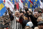 Riot Police Break Up Protest in Ukraine's Capital