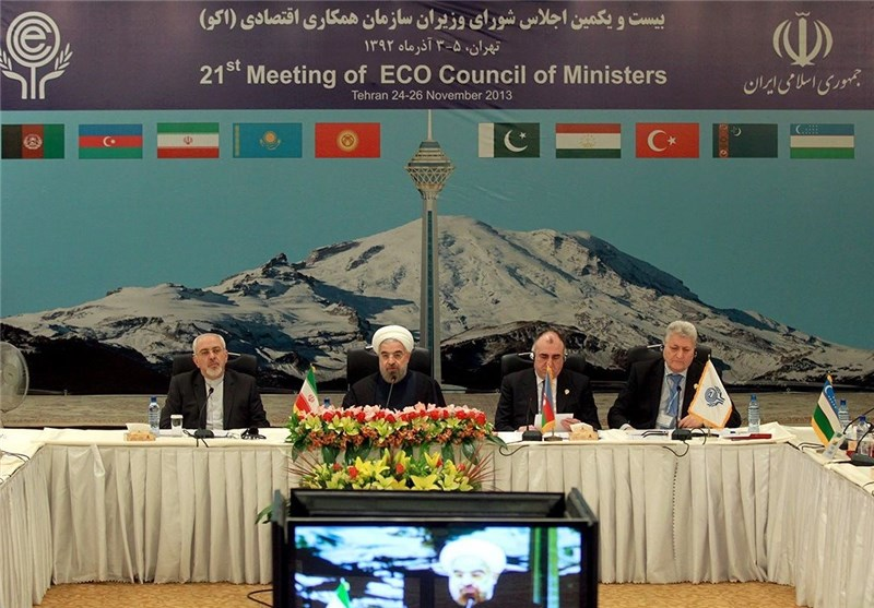 Rouhani Views ECO as Big Opportunity for Region, Members