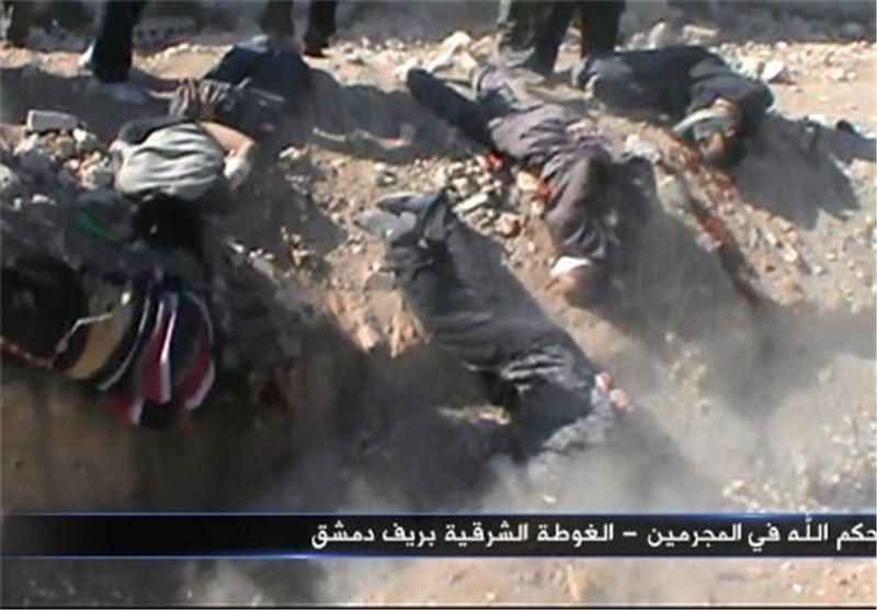 داعش بیش از 100 تروریست را اعدام کرد