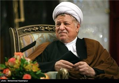 دیدار رئیس مجلس لبنان با آیت الله هاشمی رفسنجانی