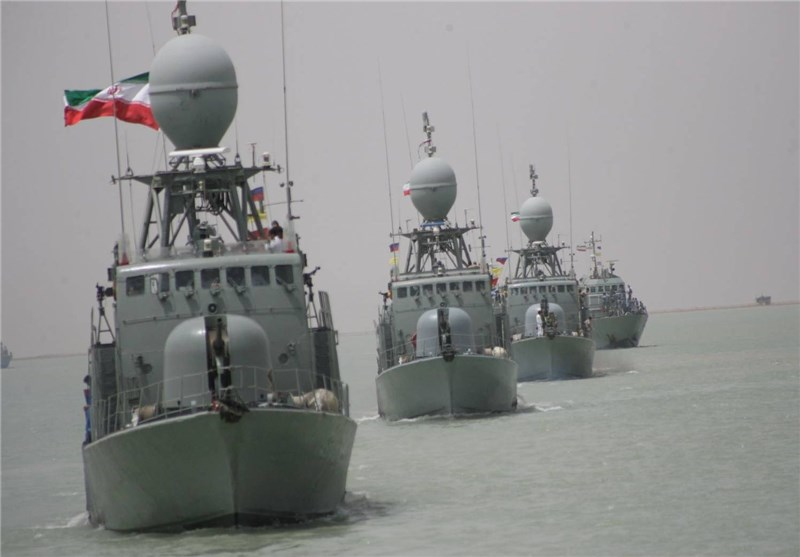Iran Launches 2 Missile Frigates, Logistics Warship