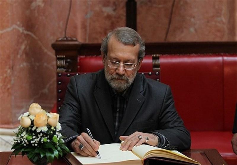 لاریجانی مصوبه بهمن ماه سال گذشته دولت دهم را مغایر قانون اعلام کرد