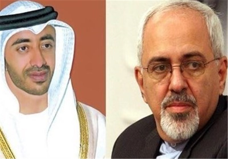 UAE Foreign Minister Arrives in Tehran