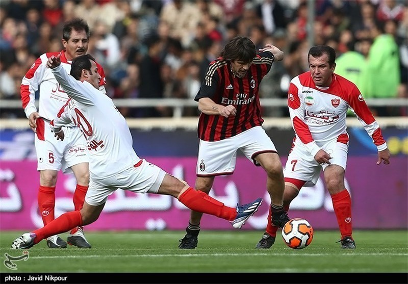 Milan Veterans Defeat Counterparts from Iran's Persepolis in Charity Match