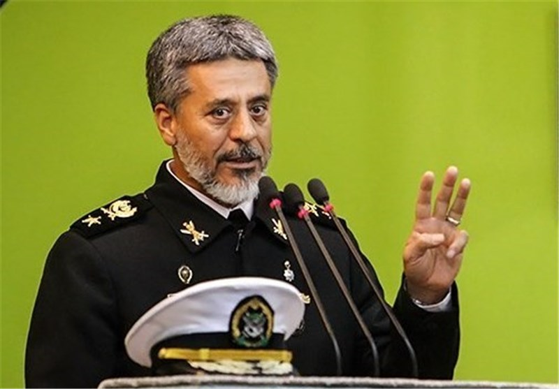 Iran Navy Known as Int'l Force: Commander