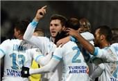 فوتبال جهان|برتری آسان المپیک مارسی در خانه گنگان