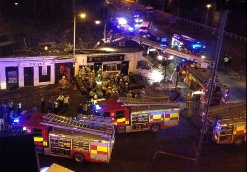 Police Helicopter Crashes into Busy Scottish Pub, Trapping Revelers