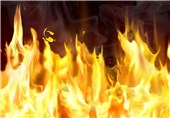 نجات مشتریان آرایشگاه زنانه از آتش و دود