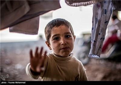 کودکان آواره سوری - دهوک عراق