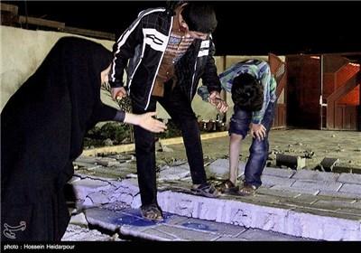 Quake Hit Iran's Southern Province of Bushehr