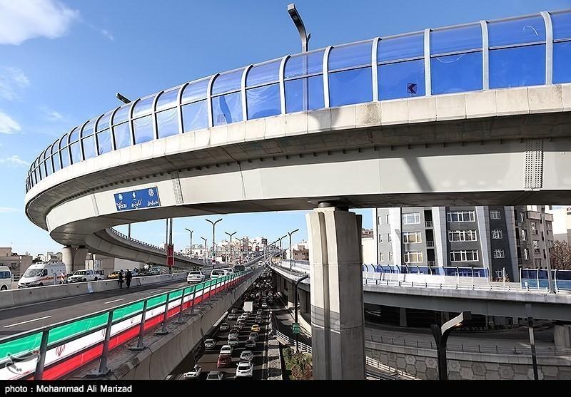 Photos: Tehran Opens Sadr Layered Highway Project