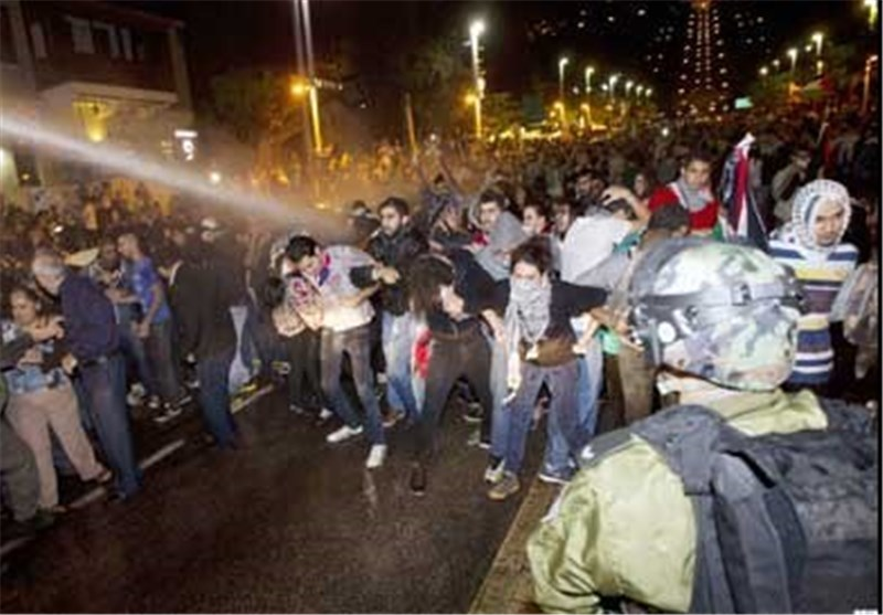 Israelis Clash with Protesters in West Bank