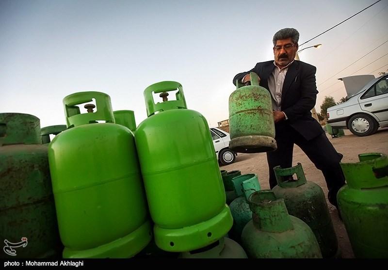 قیمت سیلندر گاز مایع