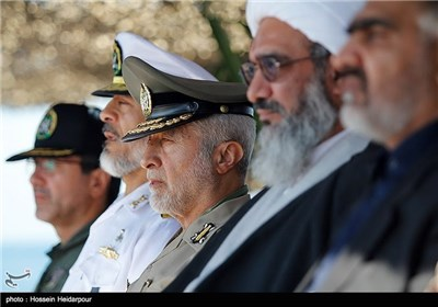 Iranian Navy Launches New Missile Frigates, Logistics Warship