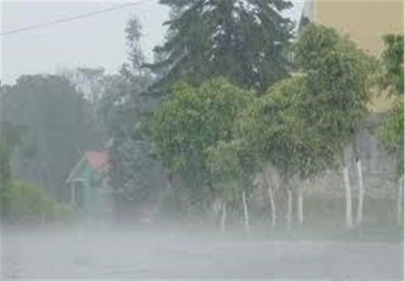 افزایش شدت بارشها در نواحی جنوبی فارس