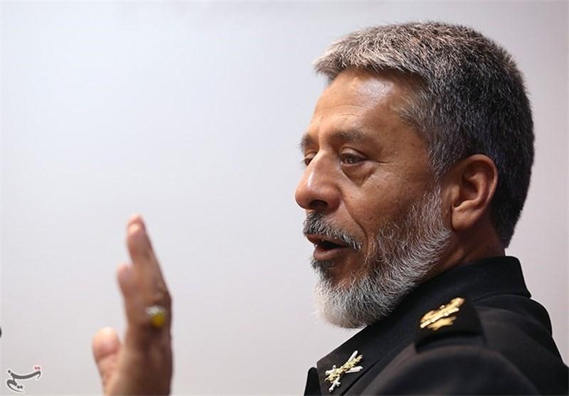 قائد سلاح البحر : سنرد على أی تهدید لایران الاسلامیة فی أی نقطة وبأسرع وقت