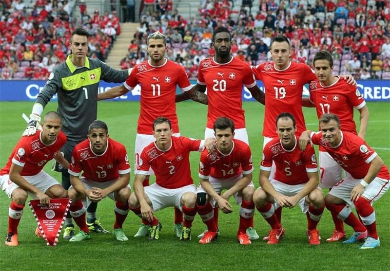 فهرست 23 نفره سوئیس اعلام شد