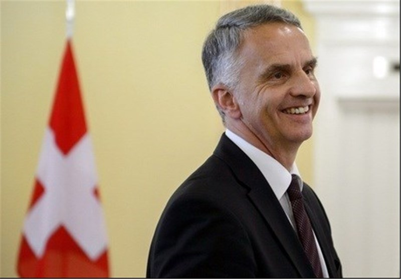 Swiss Foreign Minister Elected President
