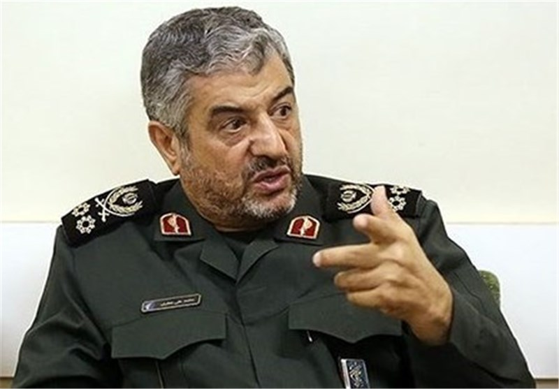 IRGC Commander Stresses Iran's Military Might