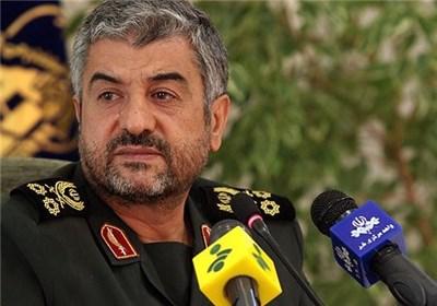 سرلشگر محمد علی جعفری فرمانده کل سپاه پاسداران انقلاب اسلامی ایران
