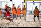 مسابقات هندبال ساحلی قهرمان کشور در بوشهر