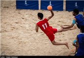 برتری تیم ملی هندبال ساحلی ایران مقابل اروگوئه در مسابقات جهانی