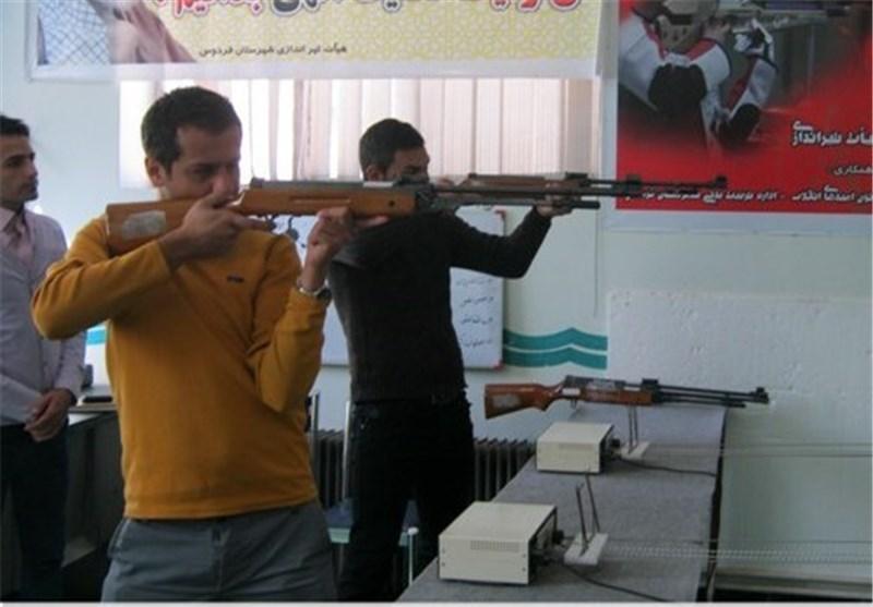 برگزاری مسابقات استانی تیراندازی در ایلام