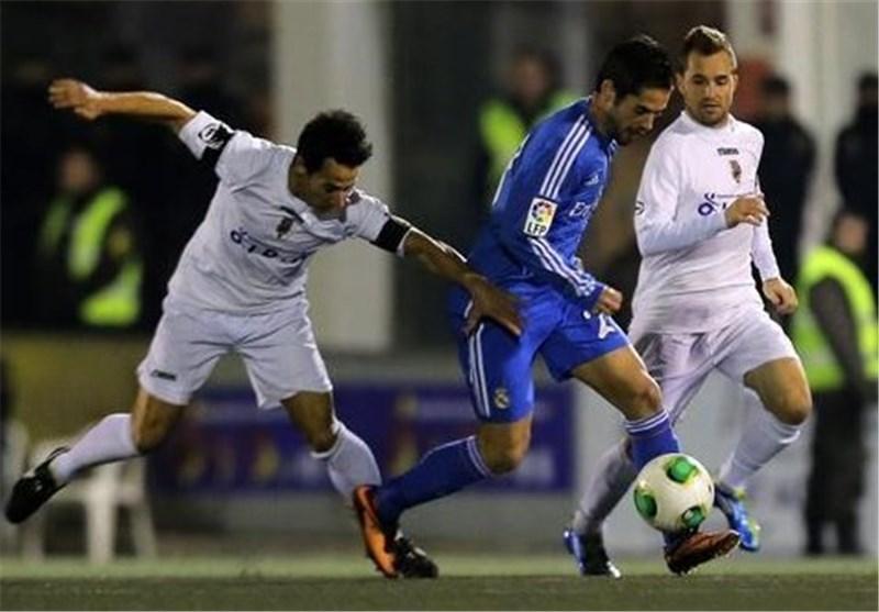 ریال مدرید یتعادل مع فریق درجة ثالثة فی بطولة کأس الملک الاسبانی