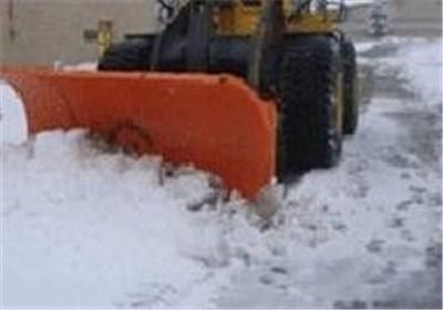 ارتفاع برف در خمین به 50 سانتی متر رسید