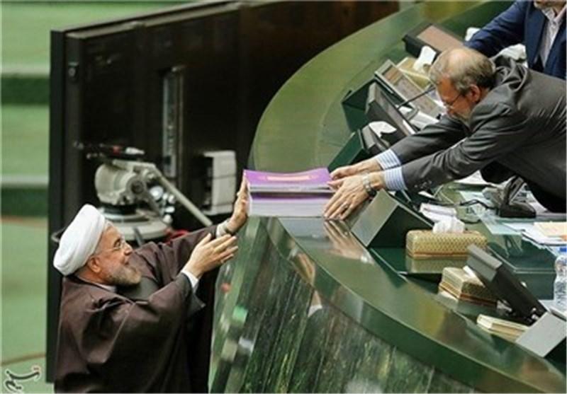 روحاني يقدم لائحة الميزانية