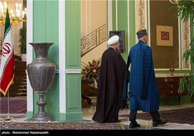 Iranian, Afghan Presidents Meet in Tehran