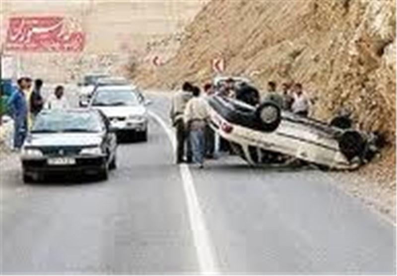 جاده مرگ جان 2 تن از ماموران پلیس را گرفت