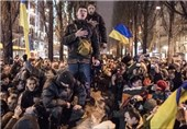 Standoff in Ukraine as Police Storm Protests