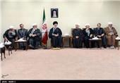 دیدار رئیس و اعضای شورای عالی انقلاب فرهنگی با مقام معظم رهبری