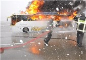 14 کشته و مجروح در تصادف زنجیرهای در اتوبان تهران_ساوه +عکس