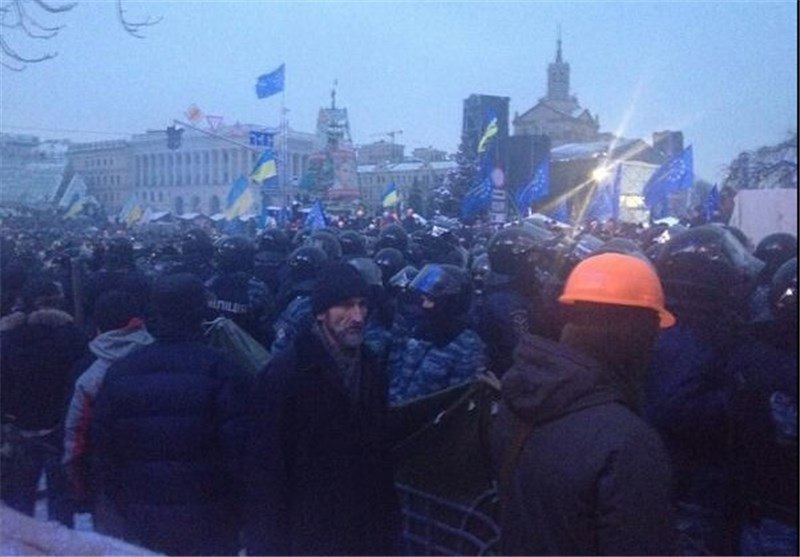 Ukraine Opposition Calls for Mass Protest