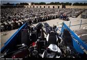 15 هزار موتورسیکلت توقیفی در پارکینگهای استان یزد خاک میخورد