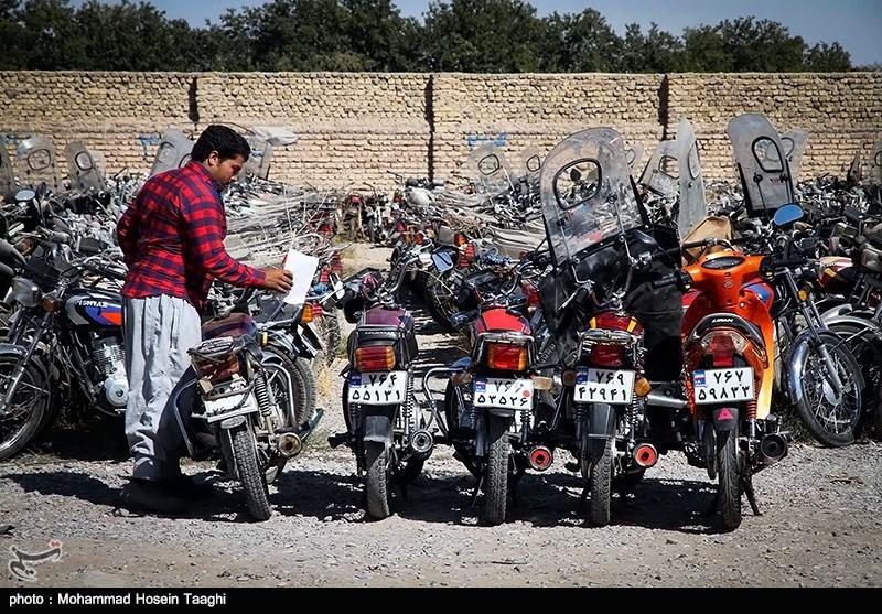 ترخیص بیش از 2800 موتورسیکلت و خودروی با جرائم بالای یک میلیون در دهه ولایت